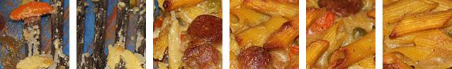 Gratin de pâtes variation #01