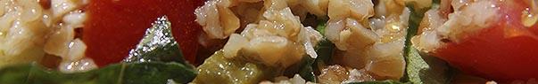 Salade de boulgour de petit épeautre