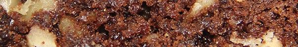 Brownie aux noix, low gluten, no lactose